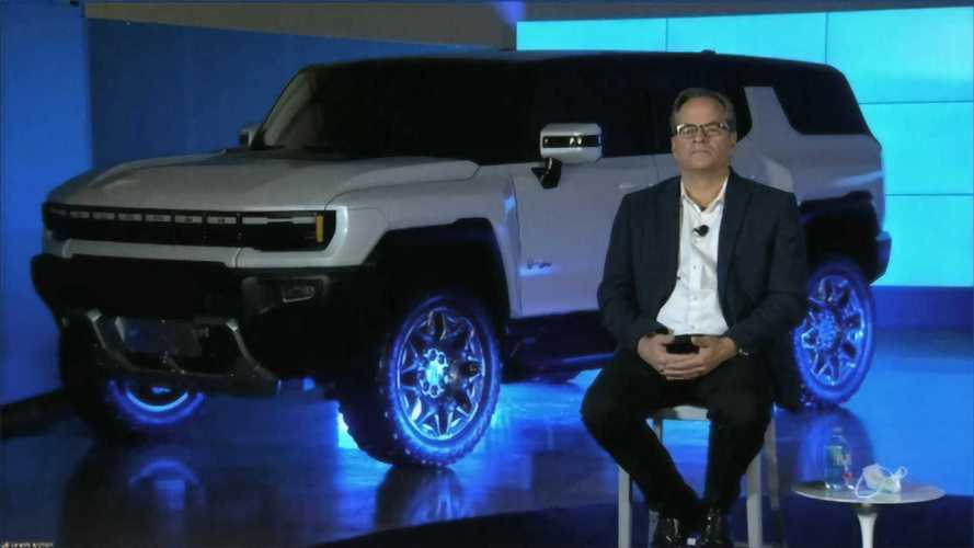 """GM """"vaza"""" versão SUV do GMC Hummer elétrico em apresentação"""