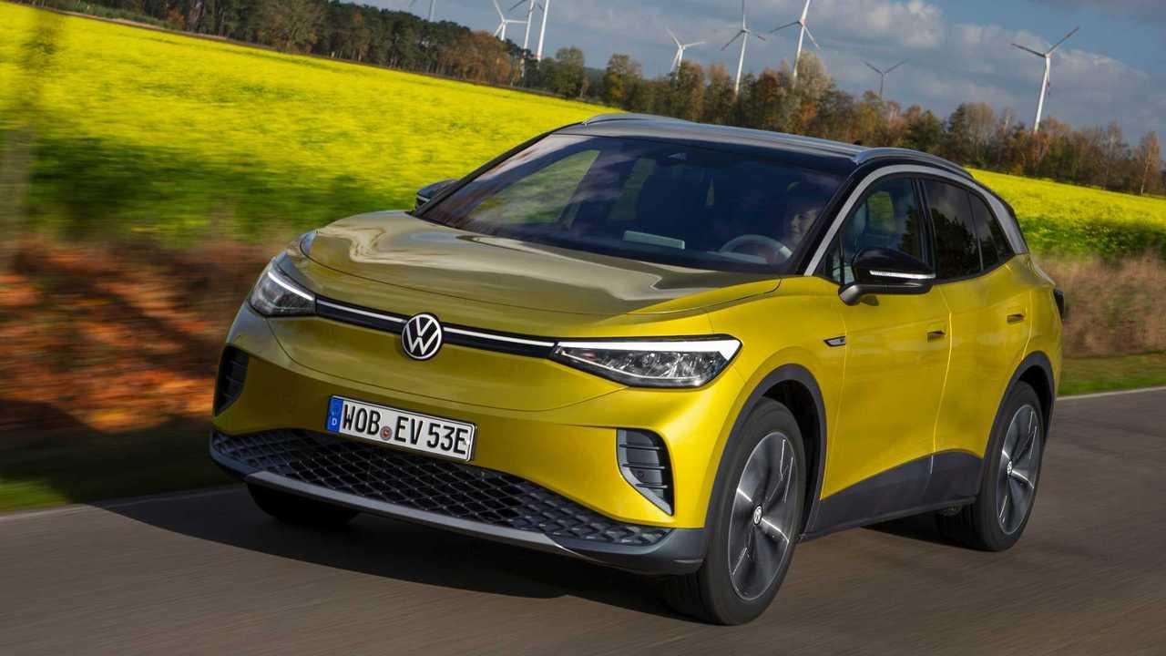 Der VW ID.4 ist bereits konfigurierbar, die Preise beginnen bei 43.329 Euro.