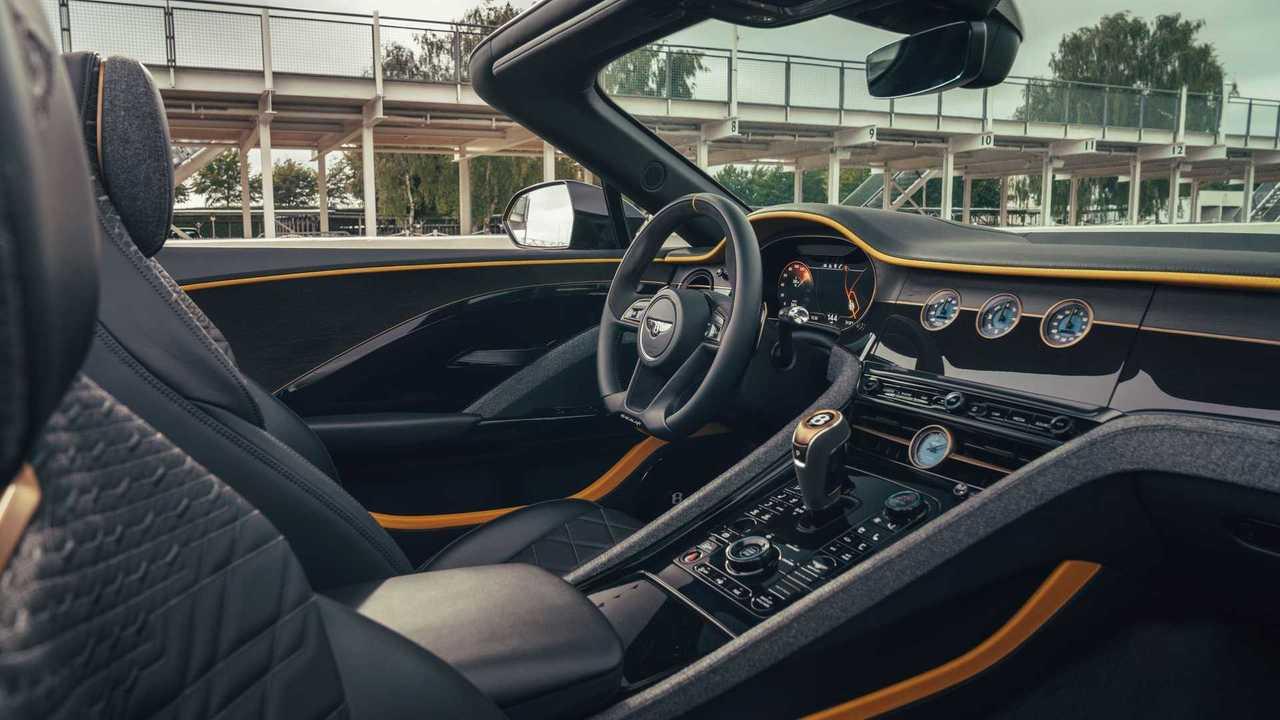 Твидовая отделка интерьера Bentley
