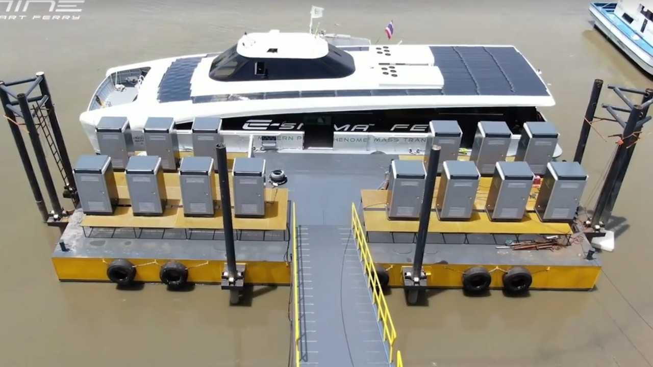 MINE Smart Ferry - fast charging inlets/plugs