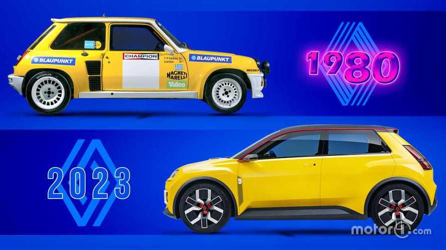 Сравнили красивую «электричку» Renault 5 и вдохновившую ее классику