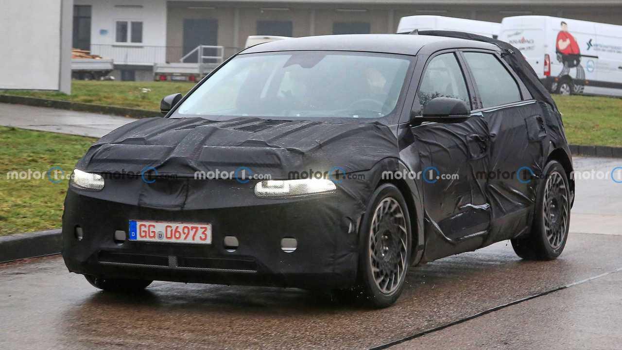 2021 Hyundai Ioniq 5 Yeni Casus Fotoğrafları