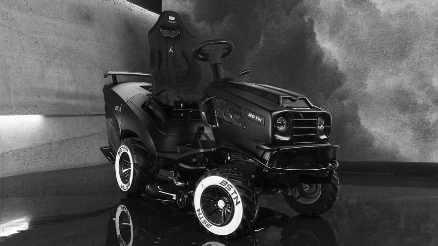 Показана мрачная газонокосилка от Mansory – мастеров странного тюнинга