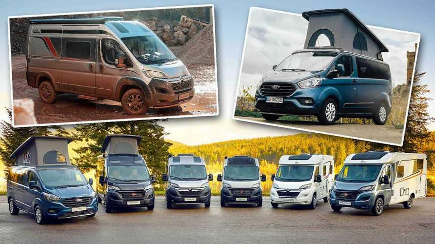 Bürstner Copa und Campeo 4x4: Neue kompakte Campingfahrzeuge