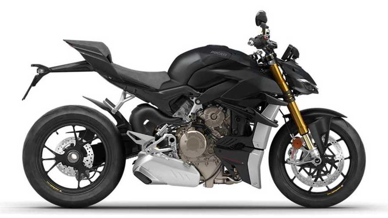 2021 Ducati Streetfighter V4 S Dark Stealth - Side (Right)