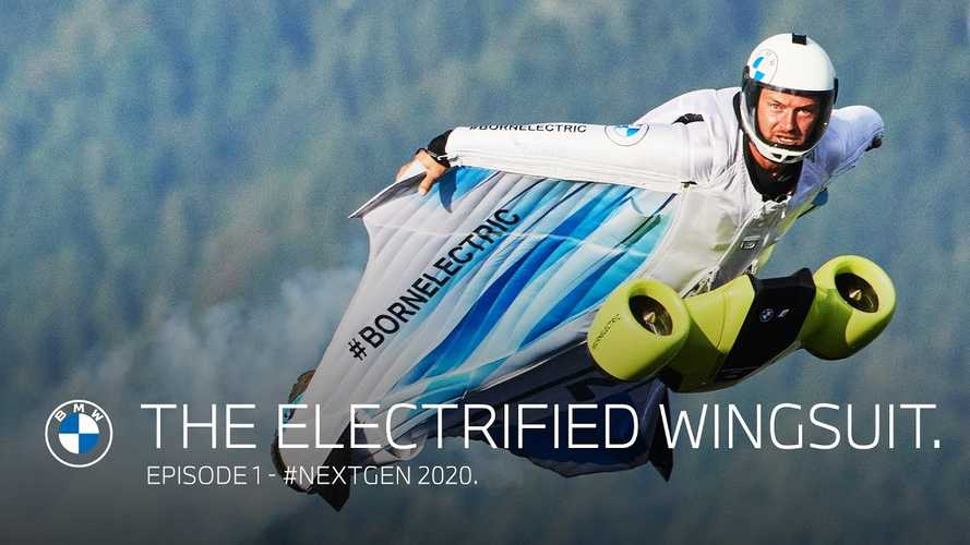 BMW Creates Electrified Wingsuit To Extend Range Of Flight