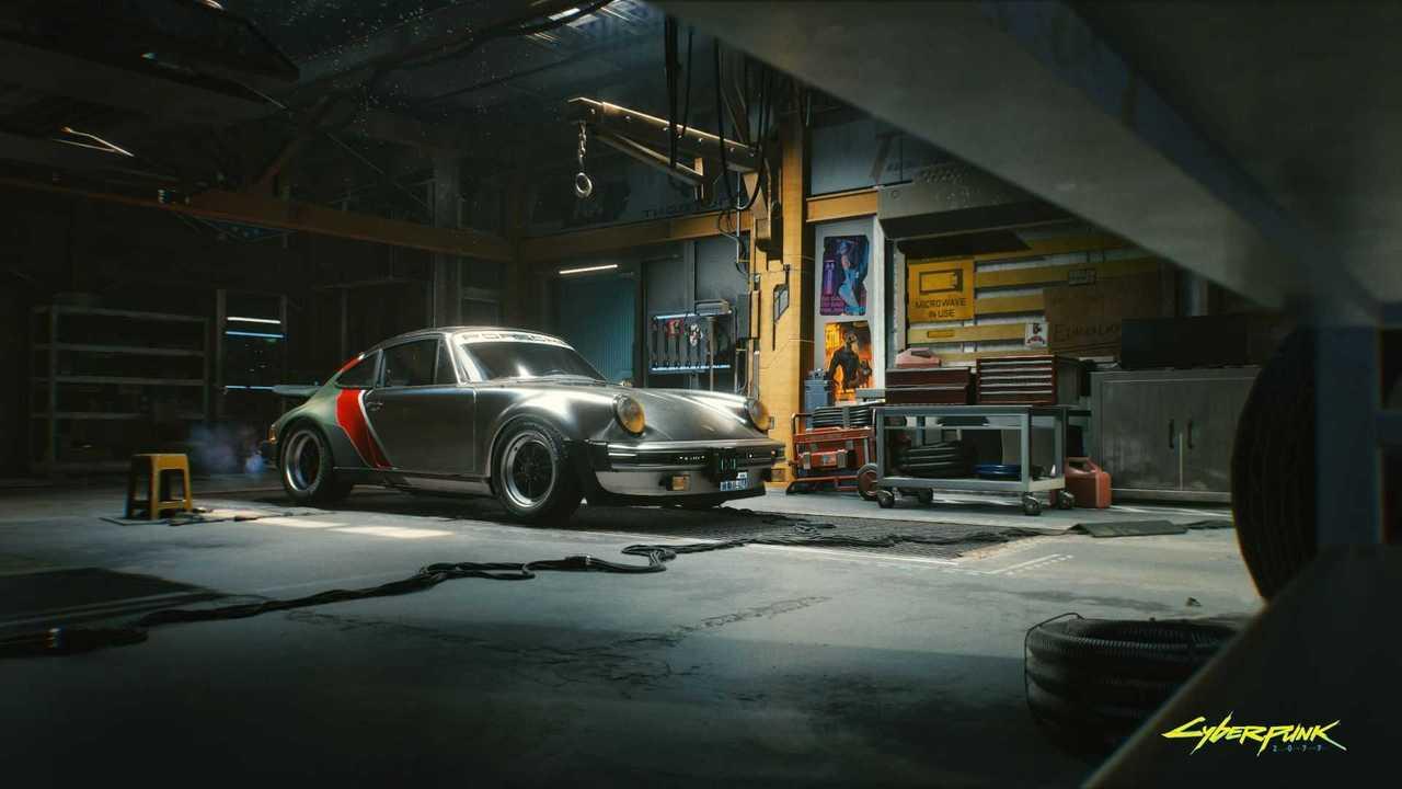 Porsche 930 Cyberpunk 2077