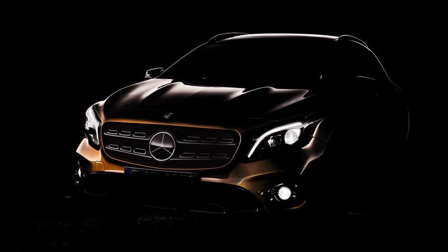 Teaser - Le Mercedes GLA restylé fait une première apparition