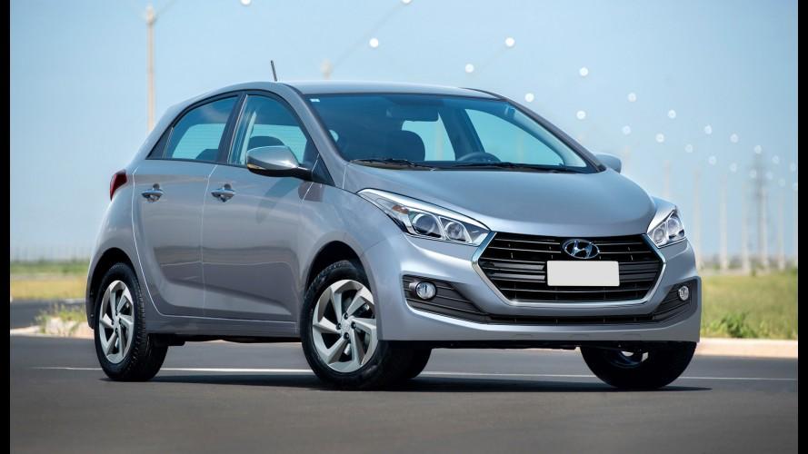 Hyundai HB20 reestilizado deverá ter câmbio A/T de seis marchas