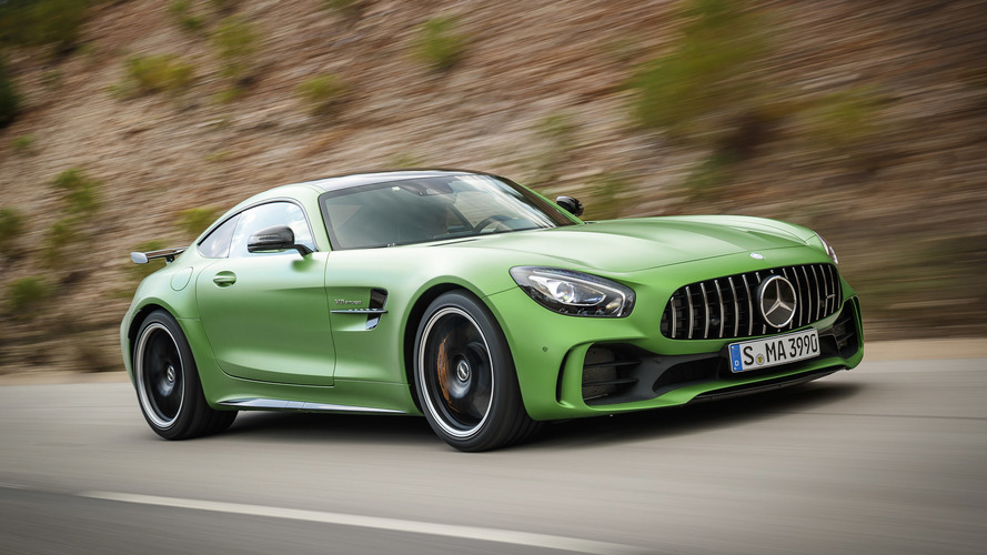 2018 mercedes amg gt r first drive the green monster of your dreams