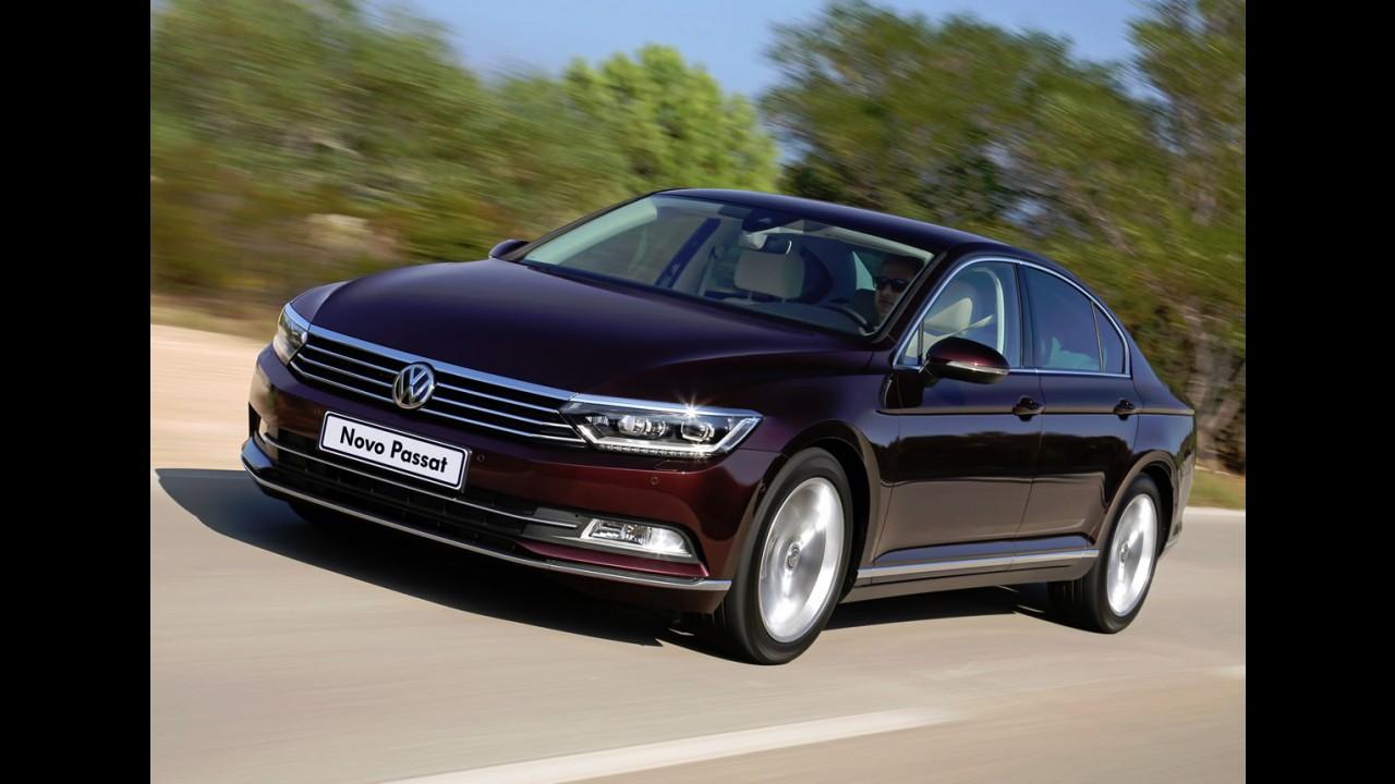 VW apresenta novo Passat no Brasil - vendas começam em janeiro