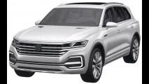 Volkswagen registra patente de SUV que pode suceder o Touareg