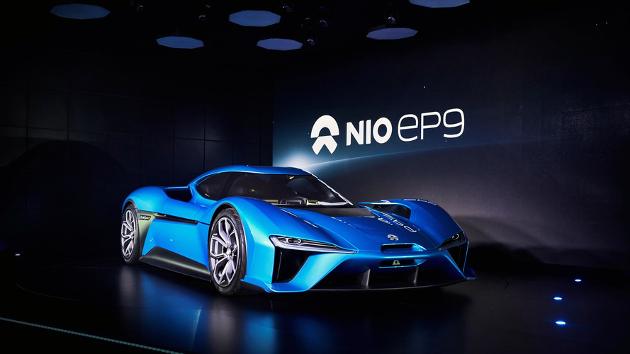 Nio EP9 laps the 'Ring quicker than Viper ACR, packs 4 electric motors
