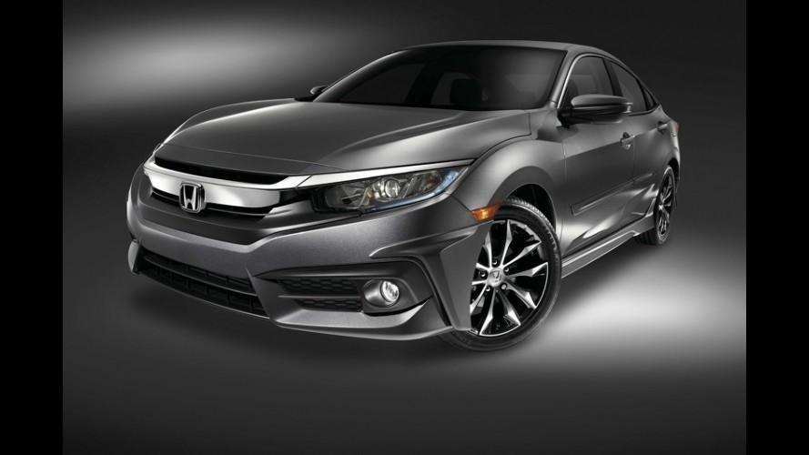 Honda mostra novo Civic 2016 com acessórios de fábrica no SEMA