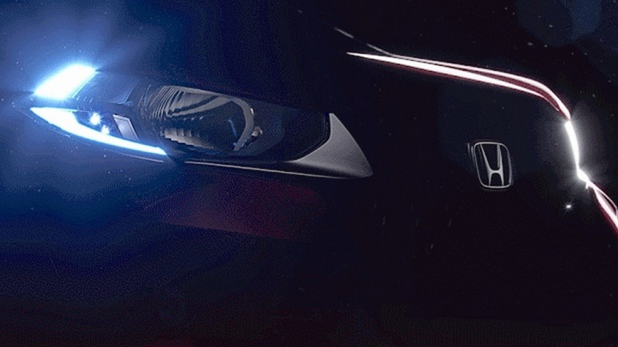 Honda mostra nova imagem do WR-V, que estreia no Salão de SP