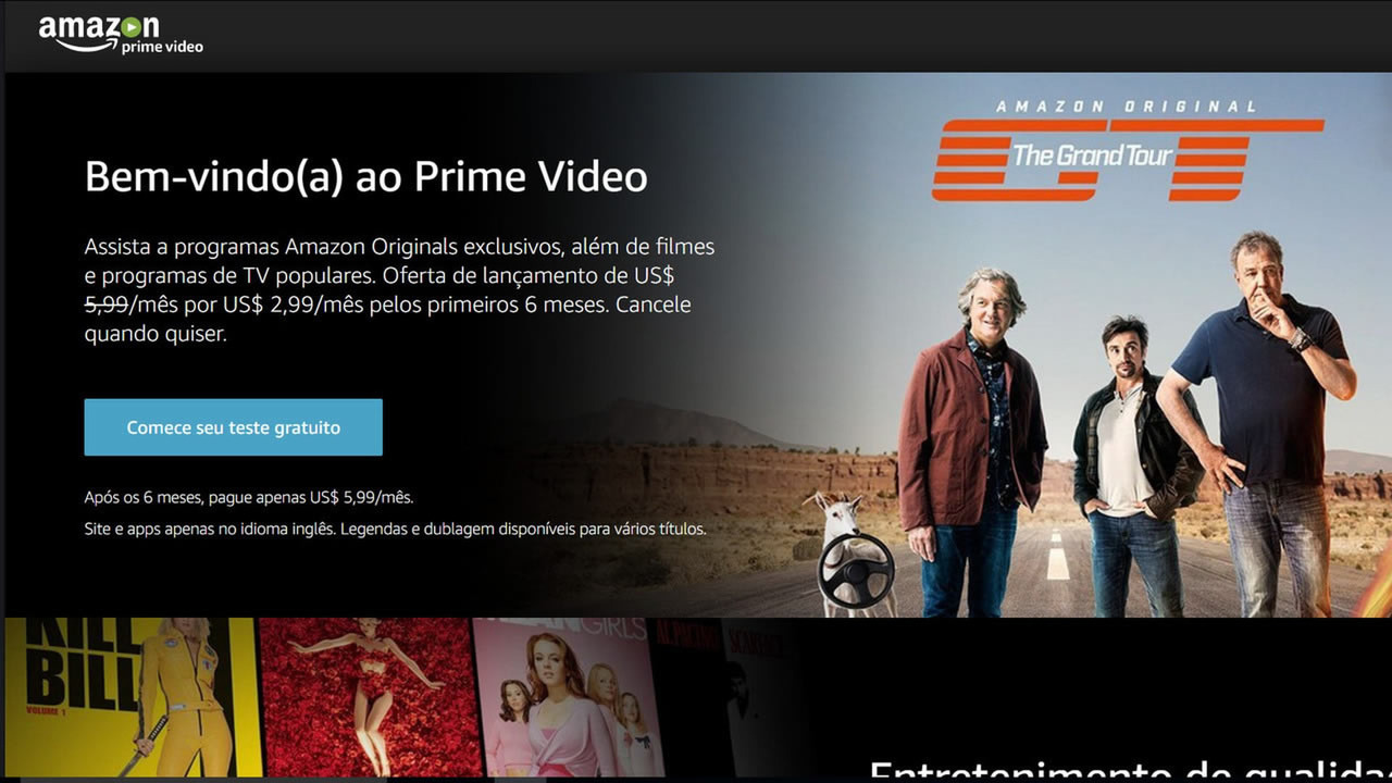 The Grand Tour - Amazon Brasil
