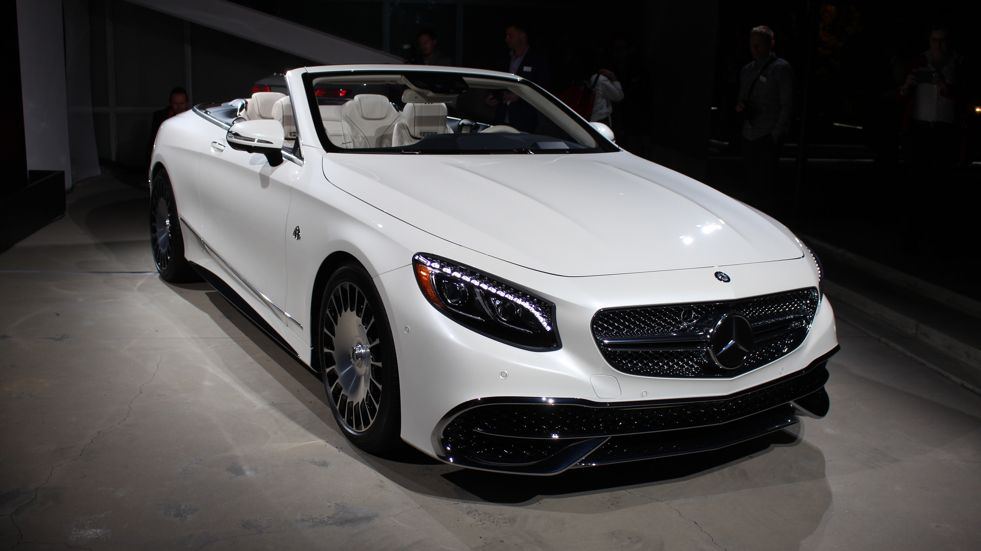 dozens of mercedes-maybach s650 cabriolets spotted at brabus hq