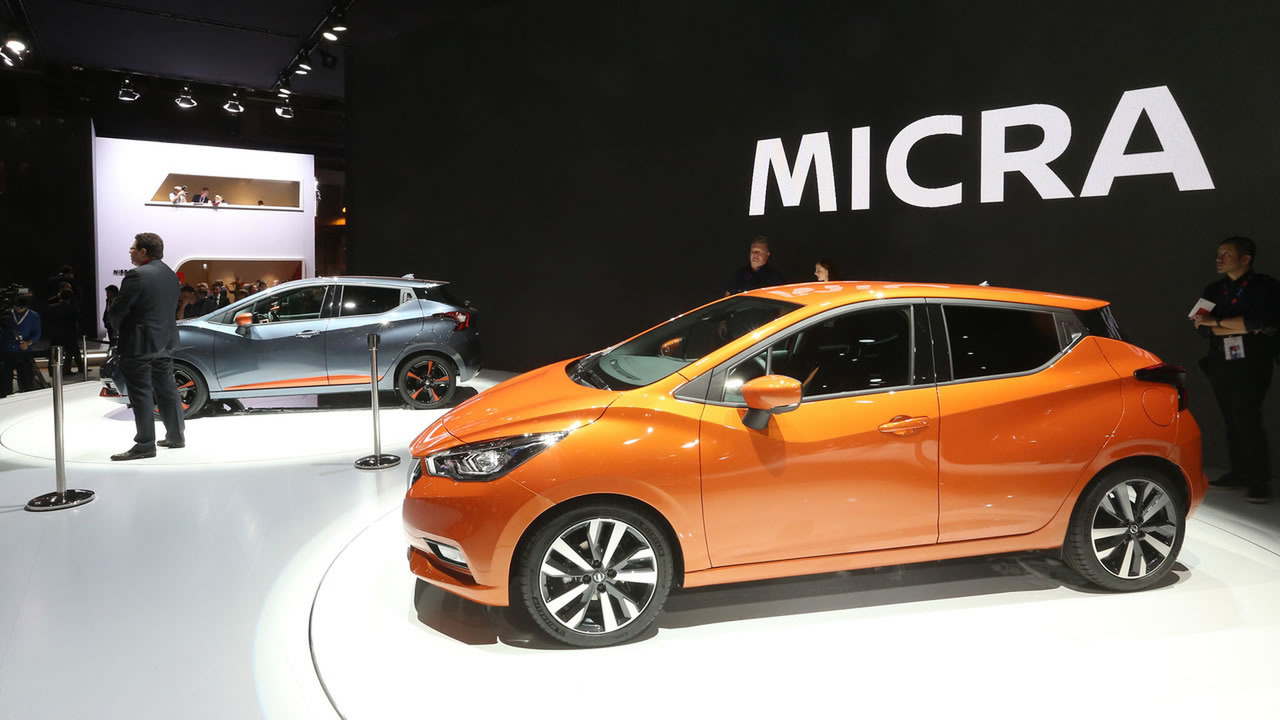 Nissan March 2017 no Salão de Paris