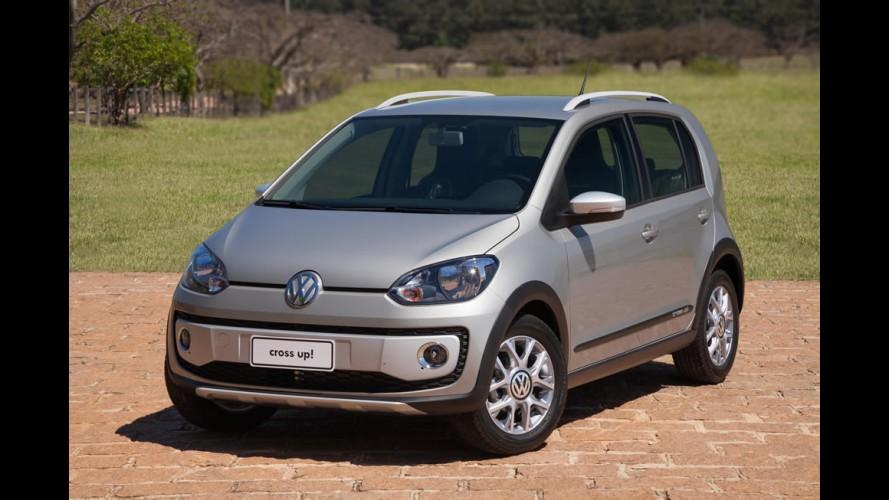 Campeão em custo de reparação, VW Cross up! completa um ano no Brasil