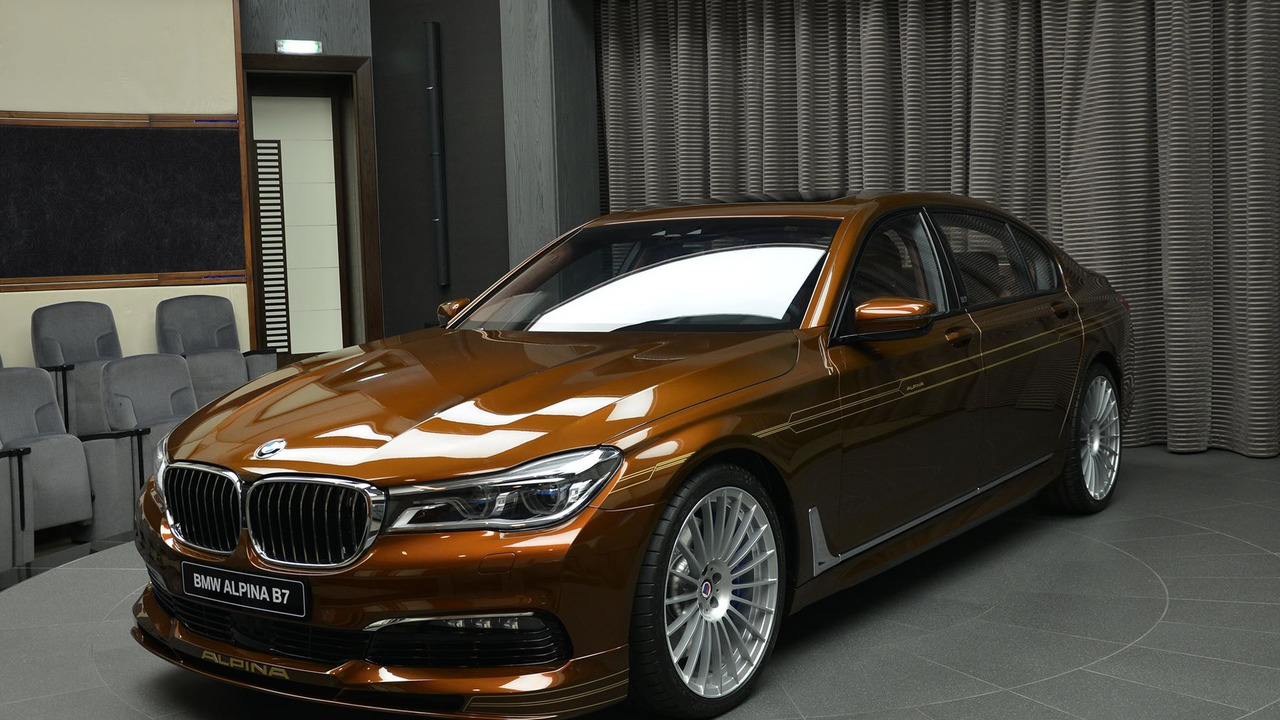 Alpina B7 Bi-Turbo Chestnut Brown