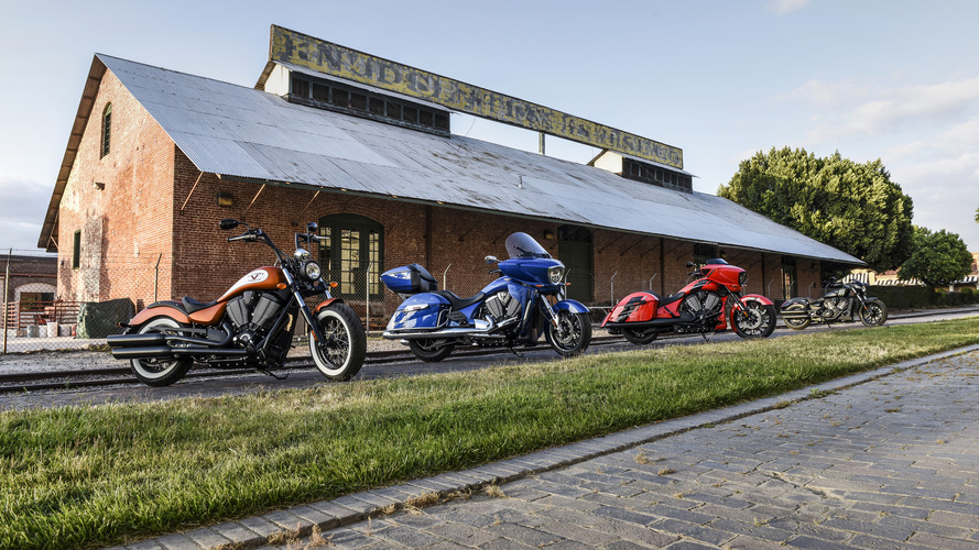 Victory Motorcycles reveals 2017 model year lineup