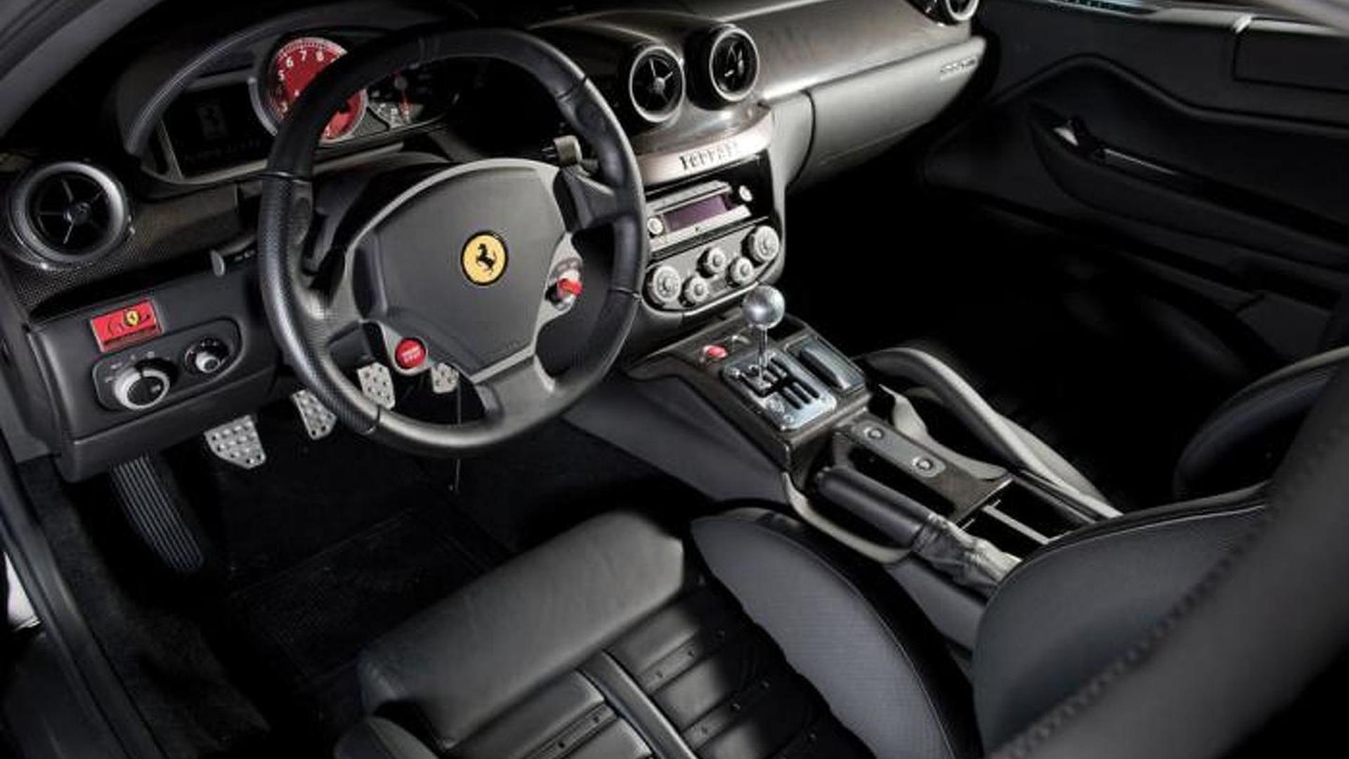 2007 ferrari 599 gtb with manual gearbox auctioned for 682 000 rh motor1 com Ferrari 599 GTB Fiorano Interior ferrari 599 manual gearbox for sale