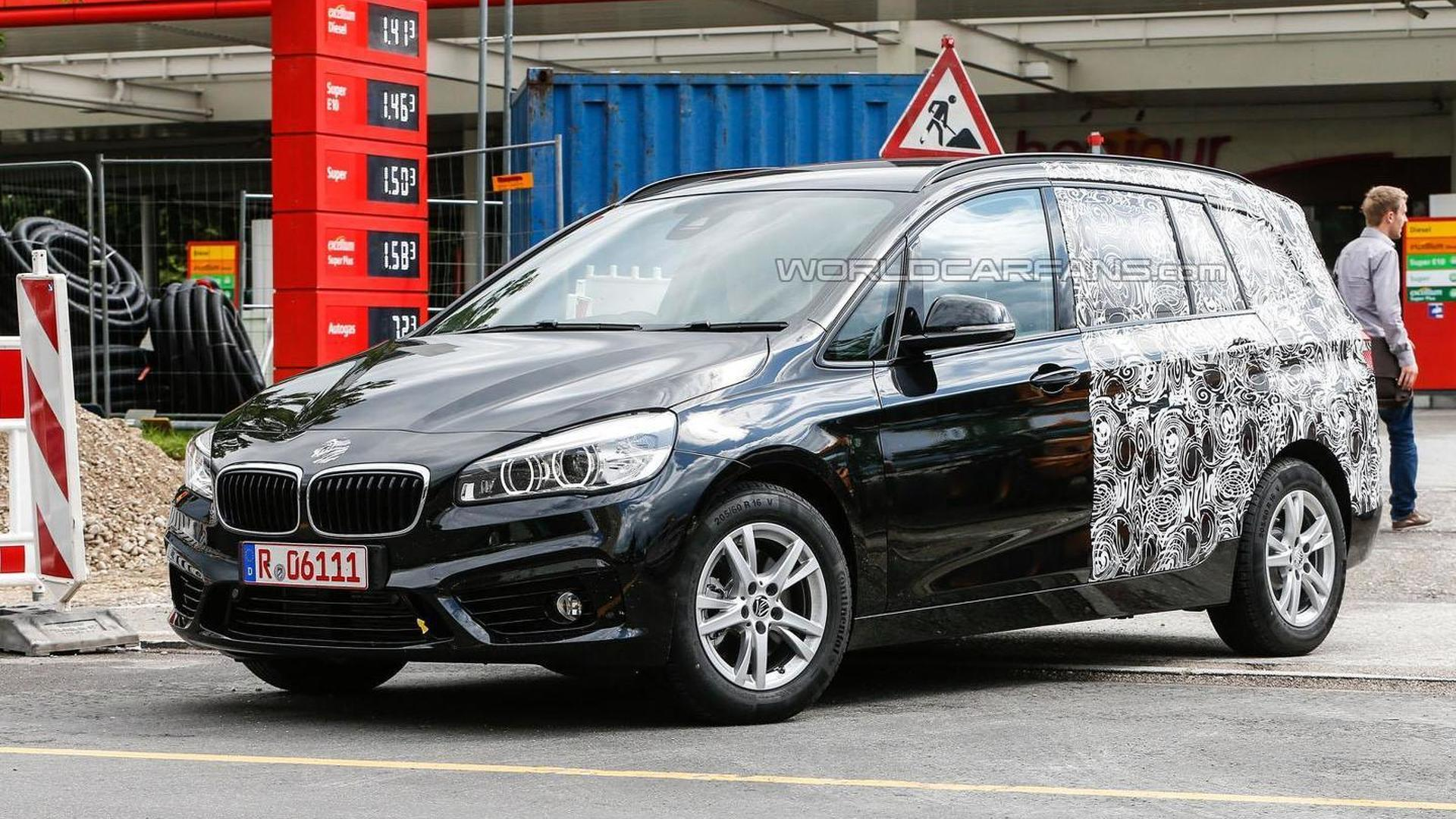 Bmw 2 Series Active Tourer Seven Seater Spied Once Again