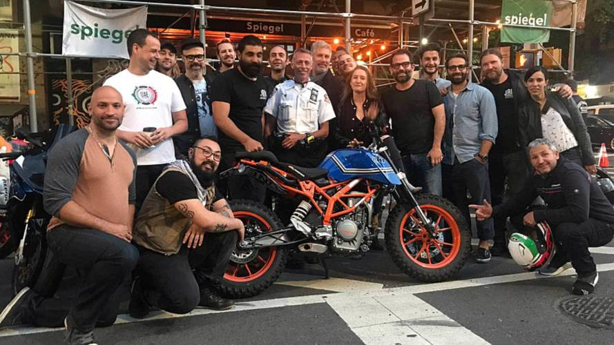 Good Friends, Cool Nerves, Save Stolen KTM Motorcycle in NYC