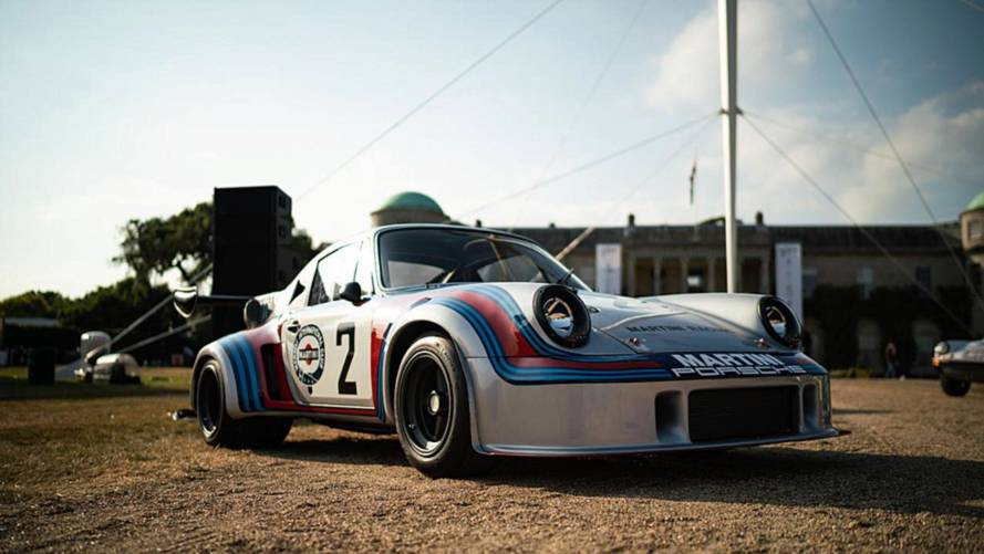 Porsche en Goodwood 2018