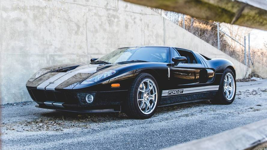 Auction-Bound 2006 Ford GT Has Driven Just 3,800 Original Miles