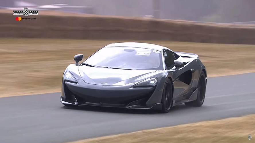 McLaren 600LT ve 600 beygirlik gücü Goodwood'a indi