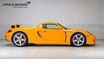 Porsche Carrera GT amarillo en venta