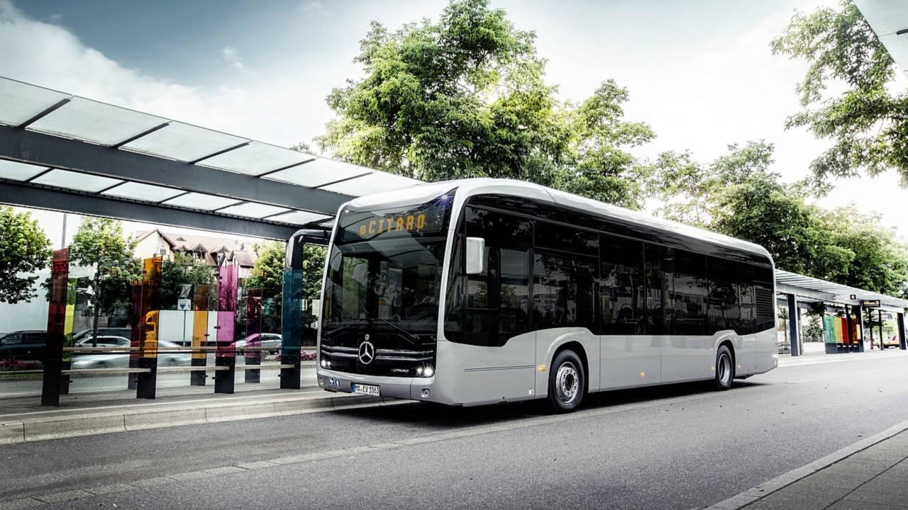 Mercedes-Benz'in Elektrikli Şehir Otobüsü eCitaro