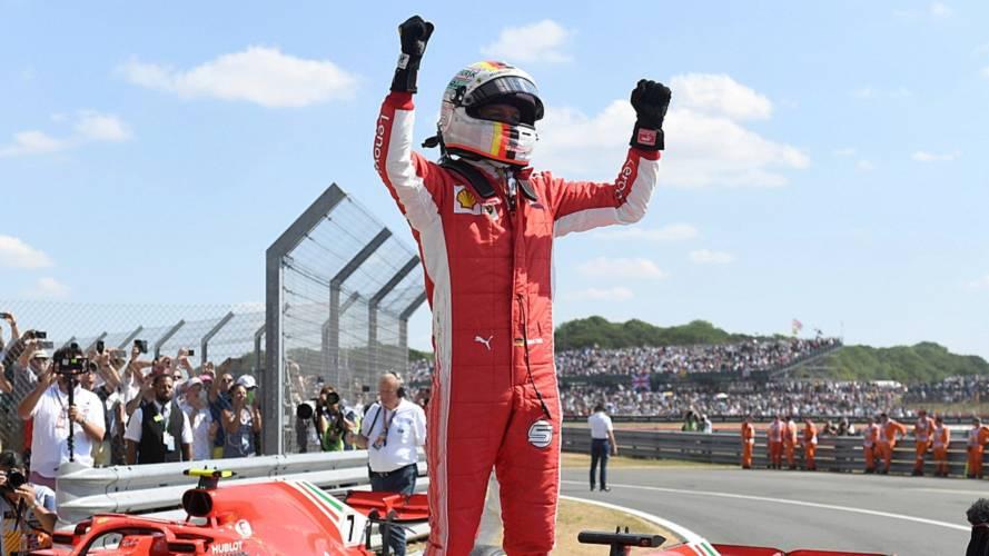 F1 - Vettel devance Hamilton dans un final à suspense !