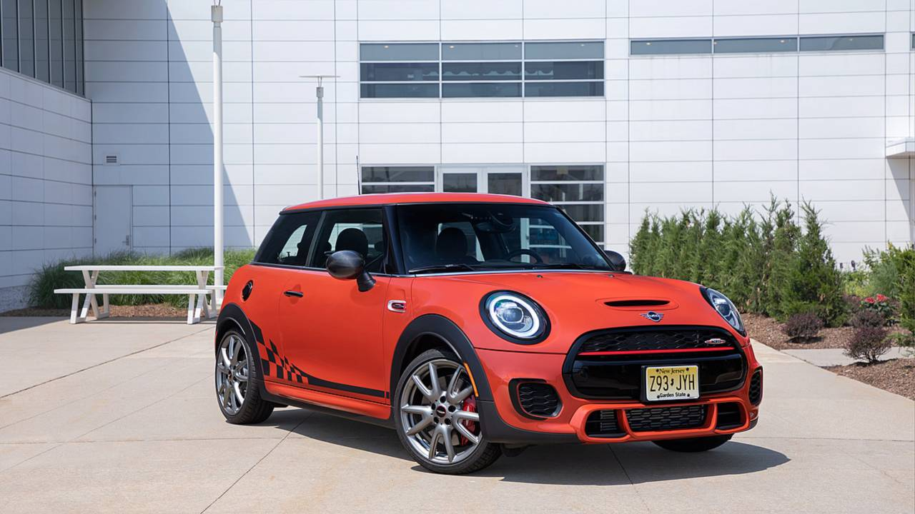 Mini John Cooper Works Hardtop International Orange Edition