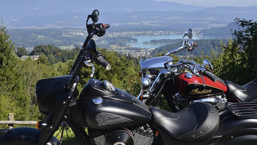 Indian Riders Gather at Faak Am See