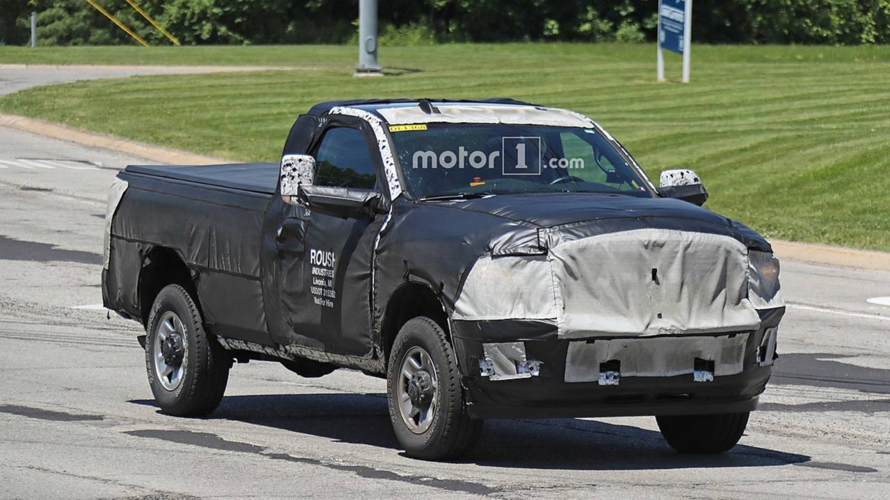 Ram 2500 HD Single Cab Spy Shots