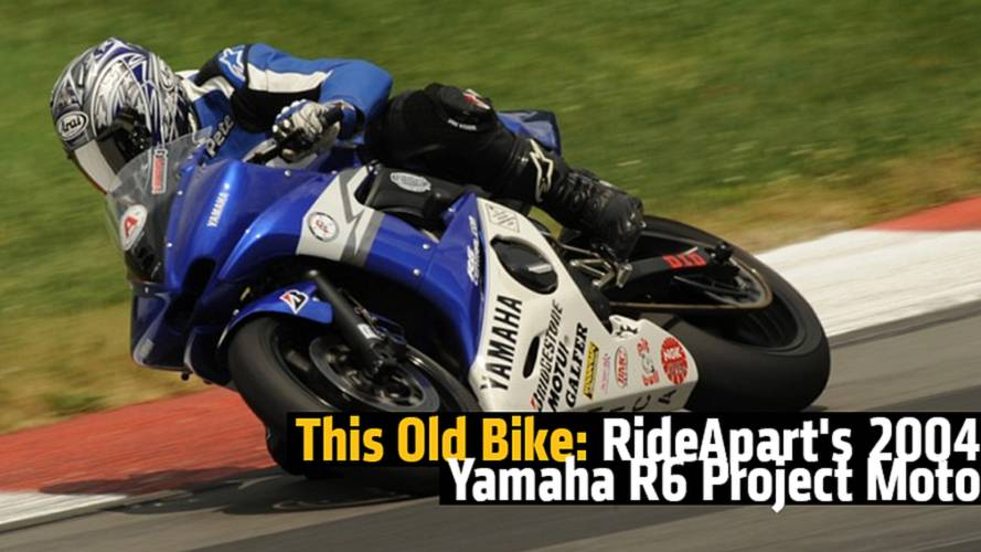 This Old Bike: RideApart's 2004 Yamaha R6 Project Moto