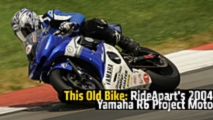 this old bike rideaparts 2004 yamaha r6 project moto