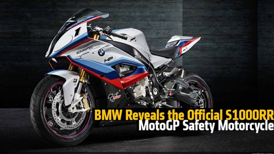 BMW Reveals the Official S1000RR MotoGP Safety Bike
