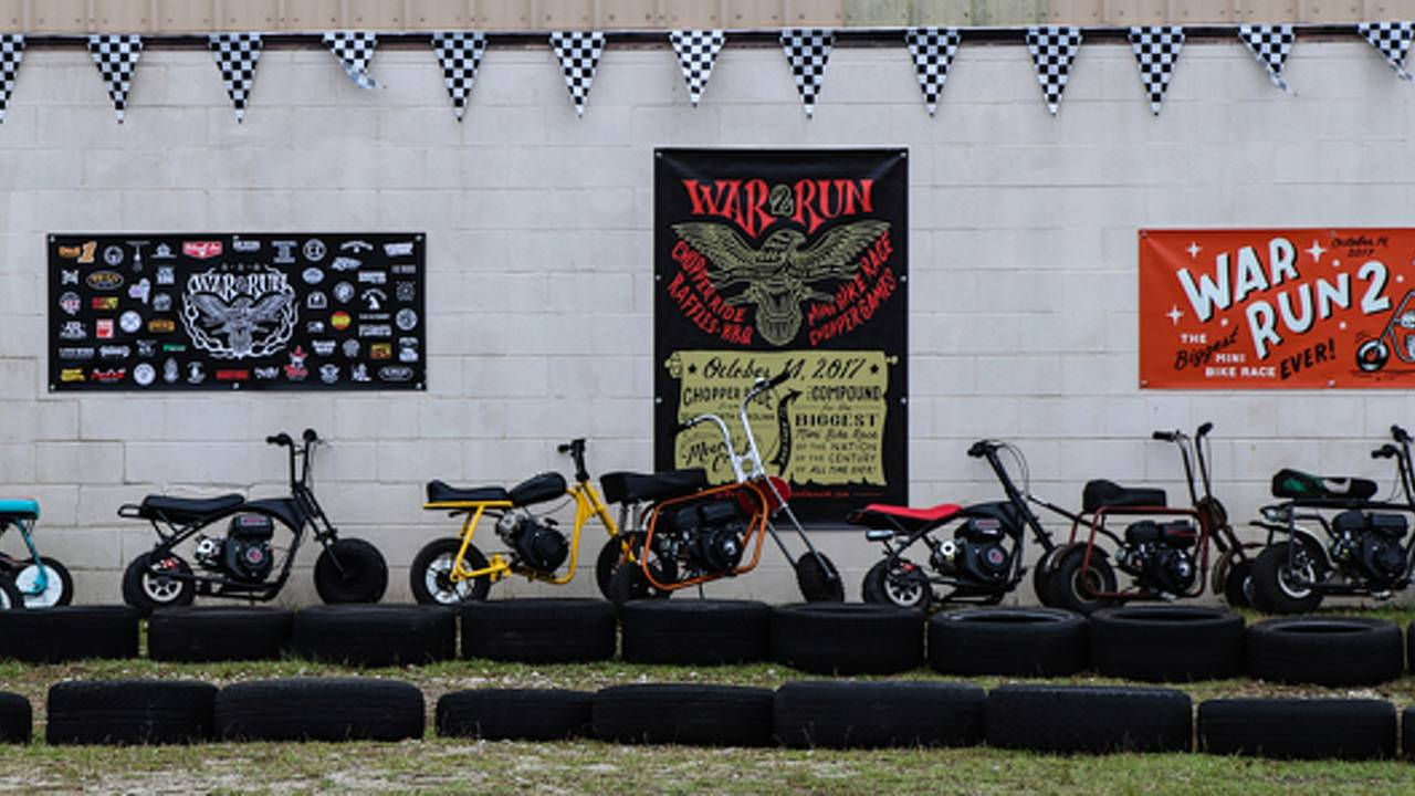 Do you have what it takes to tackle the biggest mini-bike race?