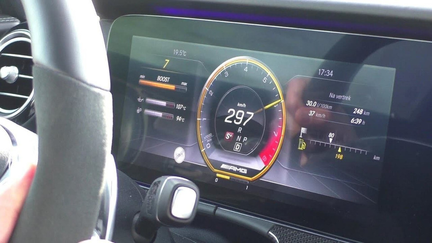 Ride Shotgun In An AMG E63 Wagon Doing 185 MPH On The Autobahn