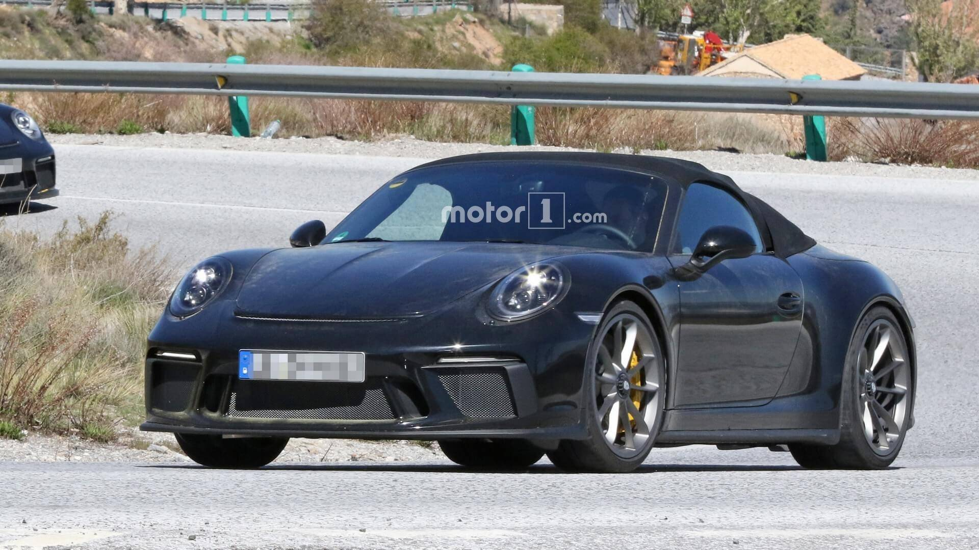 New Porsche 911 Speedster Could Be Limited To Just 1,948 Examples