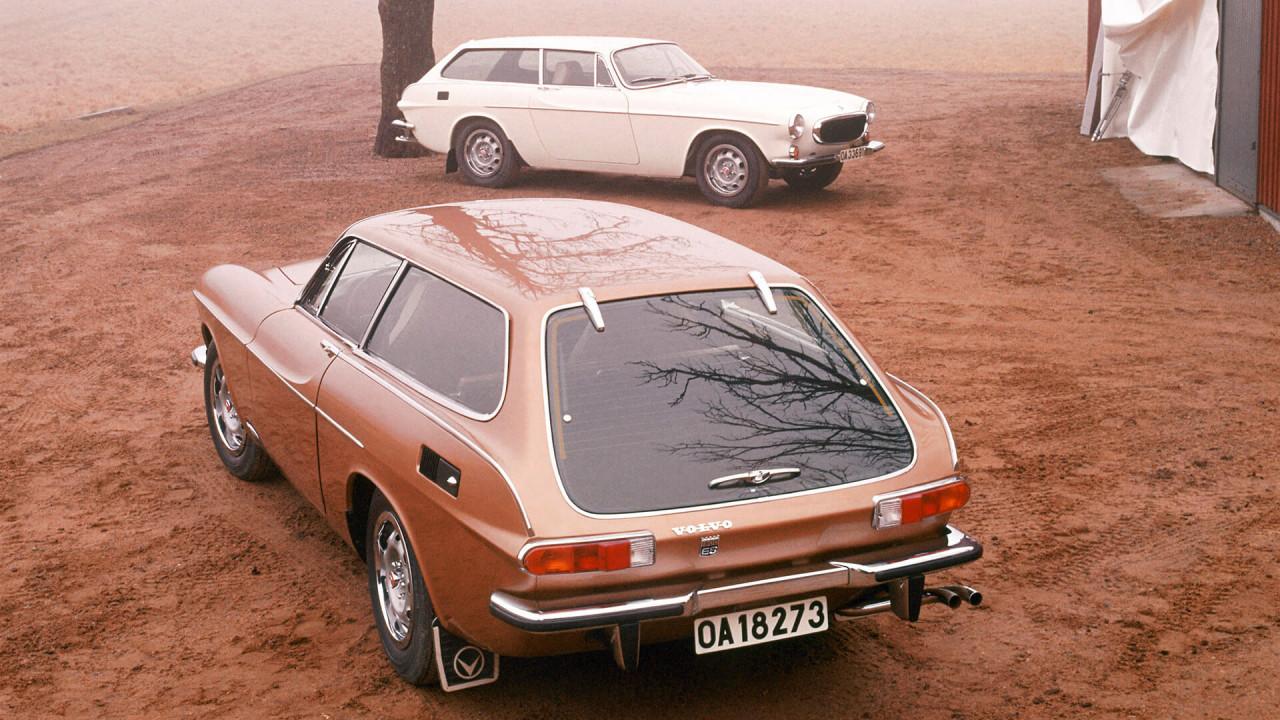 """Volvo P1800 ES: """"Schneewittchensarg"""""""