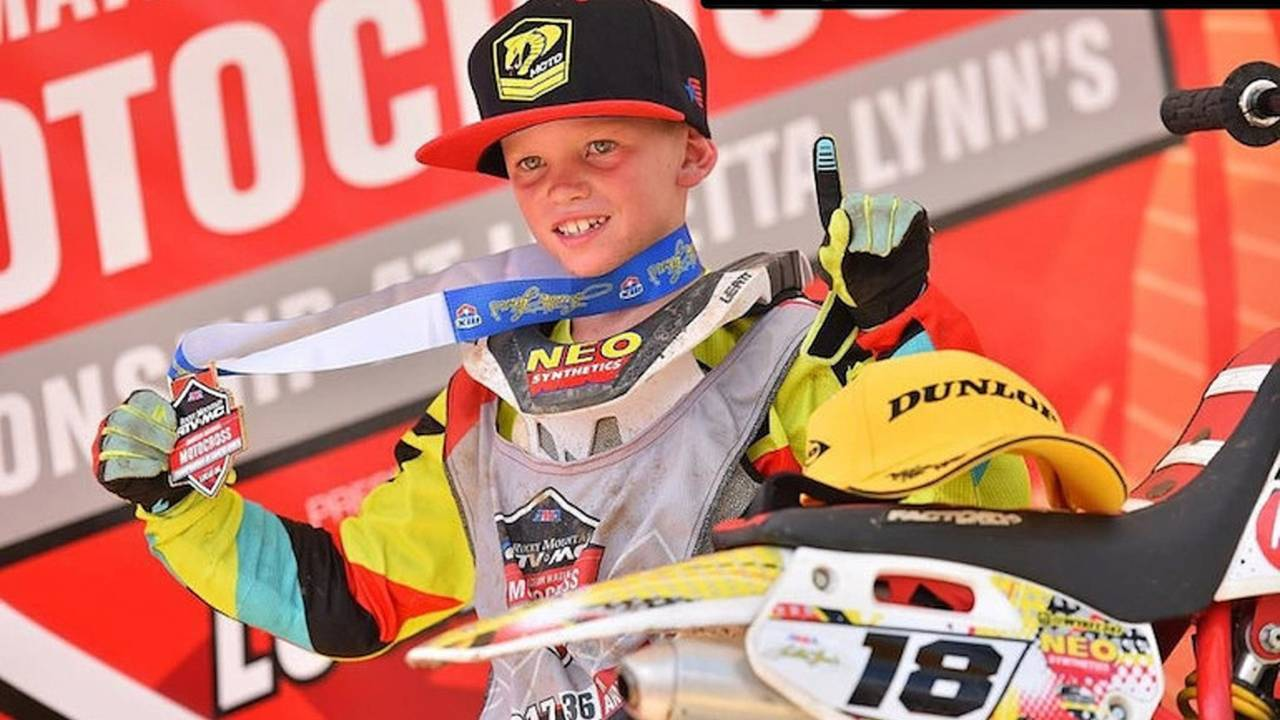 Seven-Year-Old Wins National MX Title