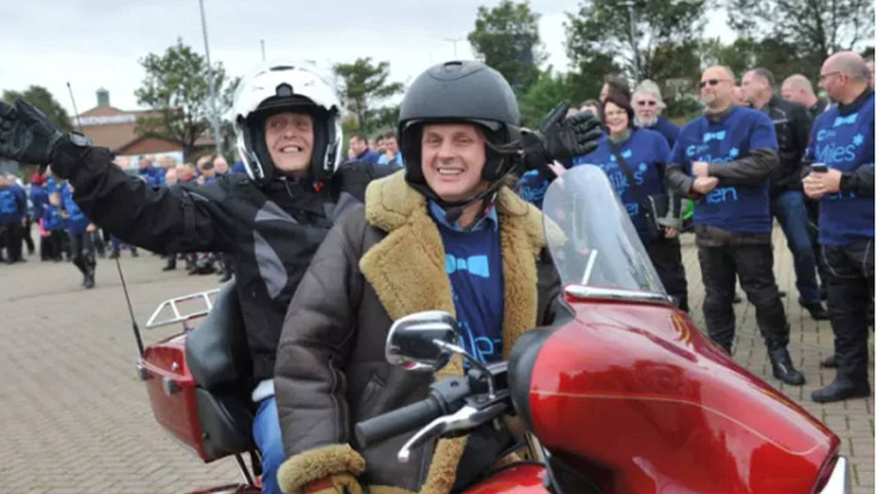 English Grandma Gets Dream Ride on a Harley