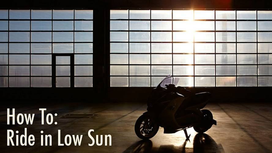 How To Ride in Low Sun