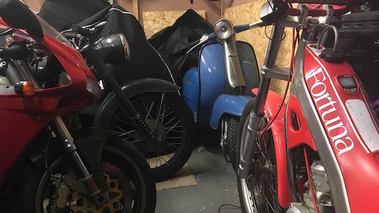 The Secret Bike Collector