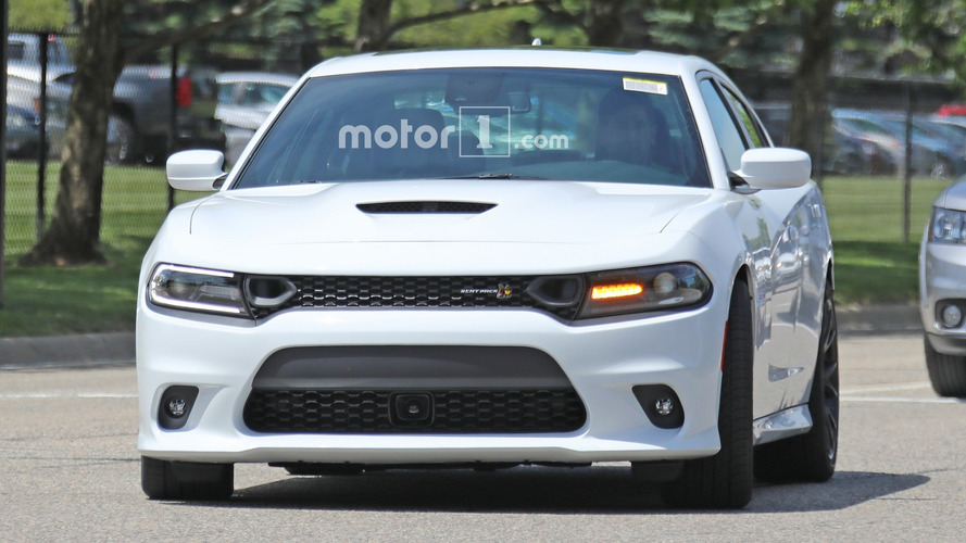 Dodge Charger Scat Pack Spy Photos