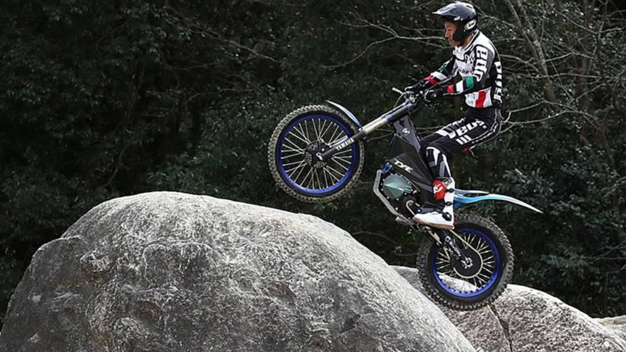 New Yamaha Electric Trials Bike Is Hyper Minimal